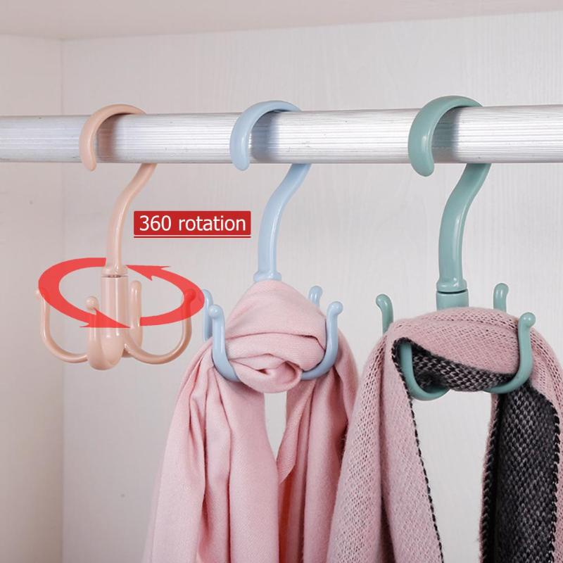 iDesign Classico Metal Over the Rod Hooks Handbags Scarves Closet Accessory Organizer for Ties 2.8 x 2.8 x 6.5 Jewelry Bronze Belts