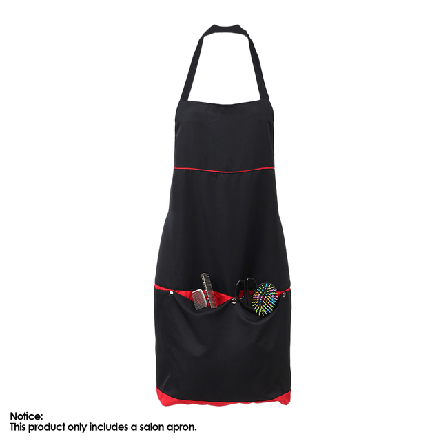 Durable 4 Pockets Salon Apron for Barber Hair Cutting Dyeing Cape Cloth Hairdresser Hairdressing Cape Hair Styling Accessory