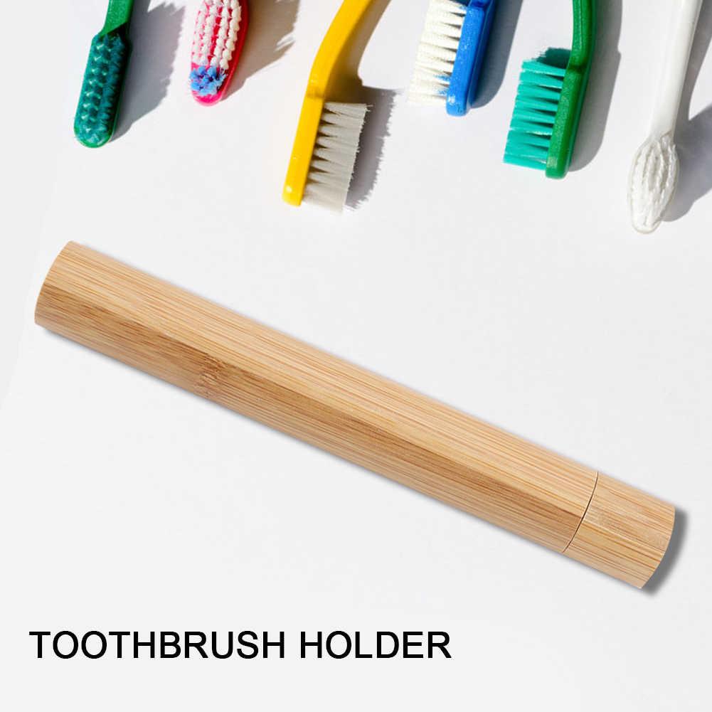 แบบพกพาแปรงสีฟัน Travel กล่องป้องกันผู้ถือสำหรับเดินทาง Eco Friendly Hand Made