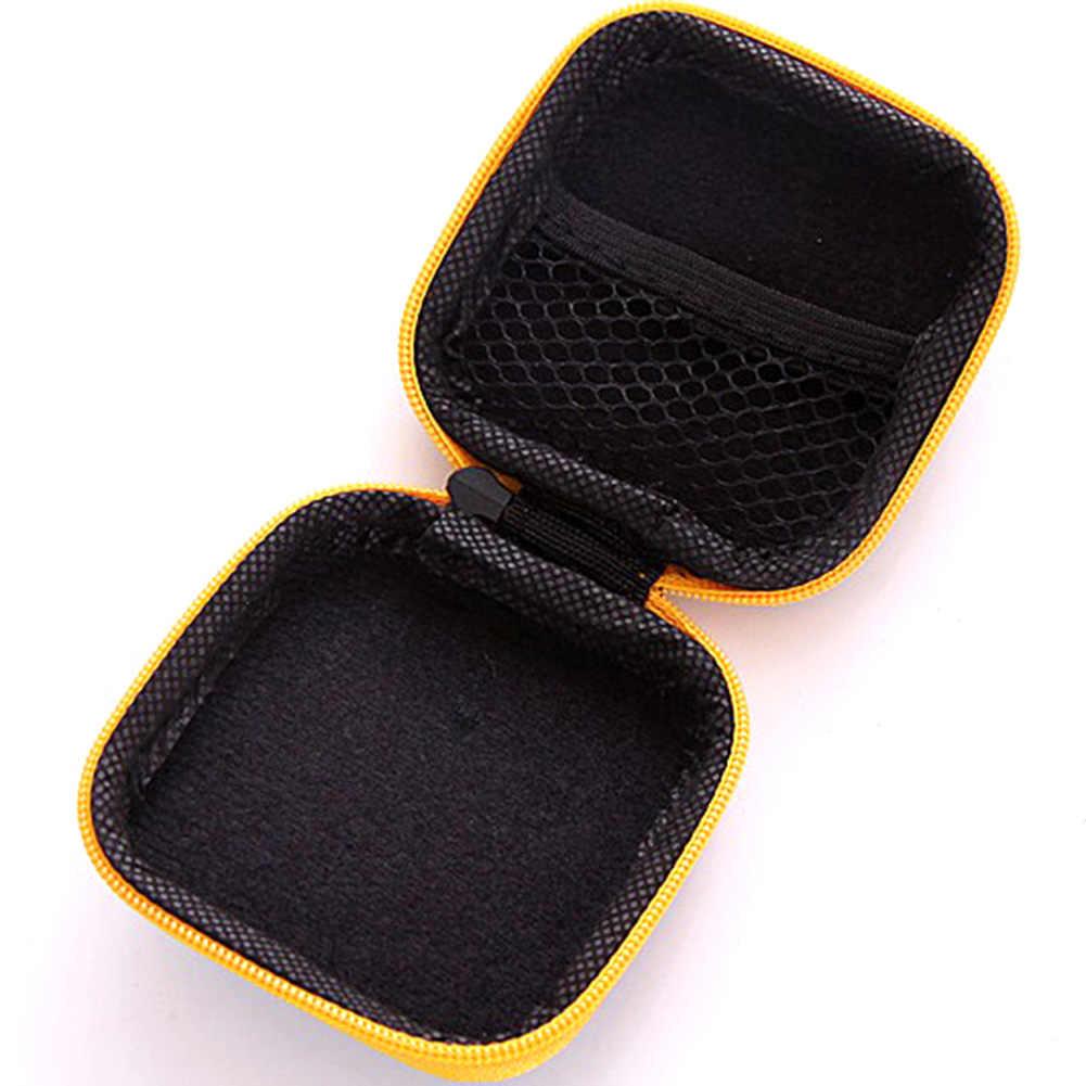Unisex Tragbare PU Leder Kleine Münze Geldbörsen Kinder Kinder Mini Zipper Brieftaschen Reise Kopfhörer Lagerung Tasche Porte Monnaie Femme