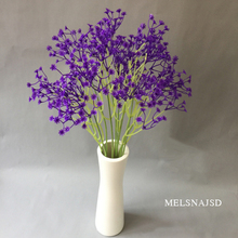 Melsnajsd PU small bouquet artificial starry flower wedding home Christmas decoration