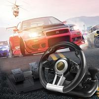 Car Racing Simulation Game Steering Wheel For Sony PC For PS3 For PS4 For X ONE For Switch Game 180 Degree Drive Steering Wheel