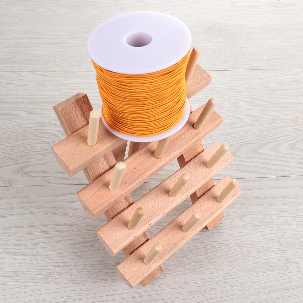 12 As Wood Draad Tailor Rack Premium Draad Rack Spool Organizer Wood Draad Rack Spool Naaien Organizer Storage Holde in DIY Apparel Needlework Storage from Home Garden