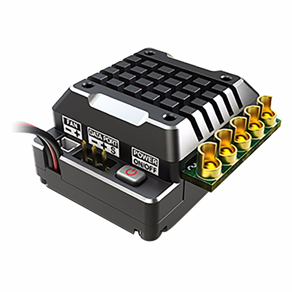 SKYRC TORO TS120 Upgrade Version ESC with 6V3A BEC120A ESC Speed Controller for 1/10 and 1/8 Crawlers
