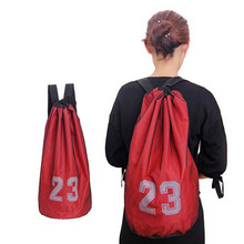 Baloncesto bolsa cordón Mash mochila Fitness bolso de baloncesto al aire  libre mochila deportes bolsa de 52e42d3ed3b42