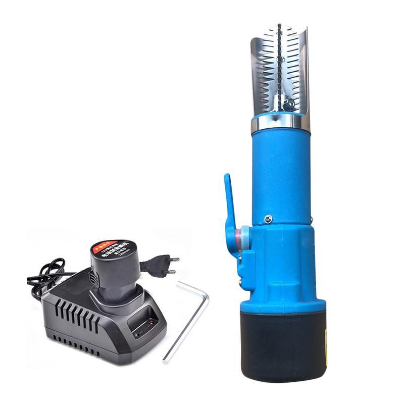 電動充電式魚スケーラー防水ハンドヘルド自動魚皮 Deslagger スケールスクレーパー刃のホームスケーリングクリーナー  グループ上の ホーム&ガーデン からの シーフード 器具 の中 1