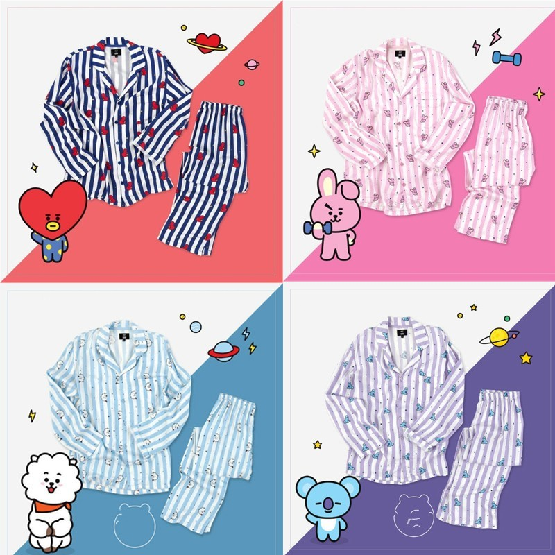 Women Autumn Wimnter   Pajamas     Sets   Version Same Harajuku   Pajamas   Shirt Nighty Bedgown Sleepwear   Set