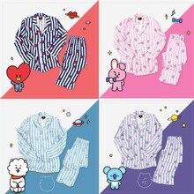 Women Autumn Wimnter Pajamas Sets Version Same Harajuku