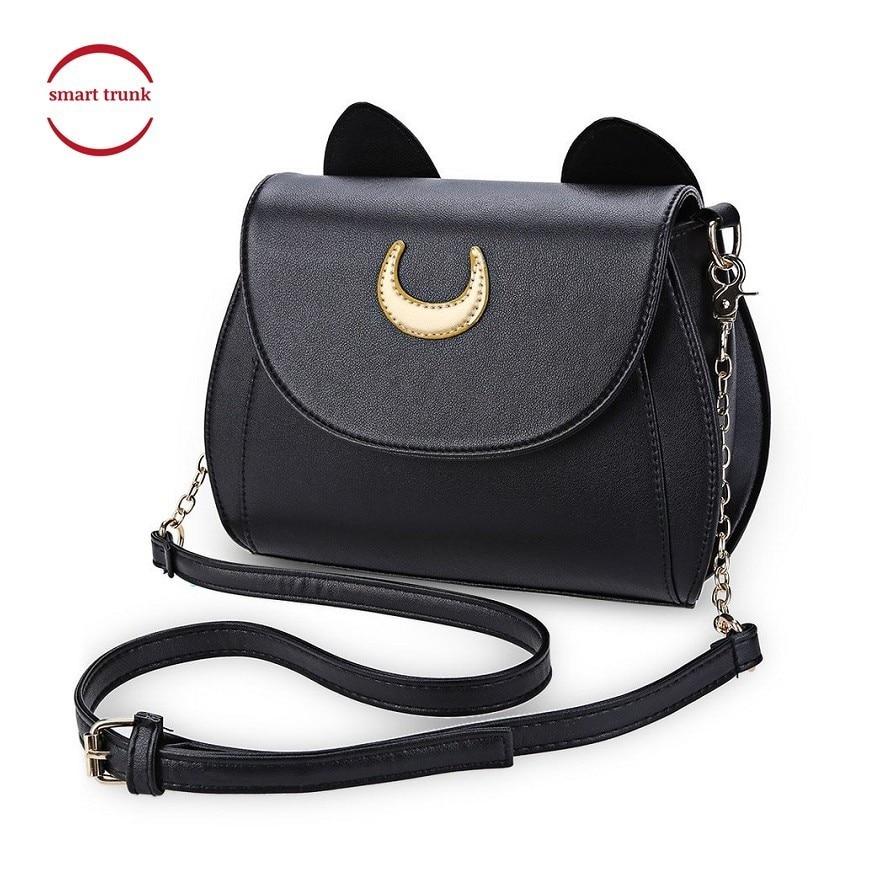 Reasonable Hot Fashion Style Bags Famous Cute Design Women Backpack Moon Luna Vega Sailor Moon Bag Cat Backpack Yx314 Backpacks Luggage & Bags