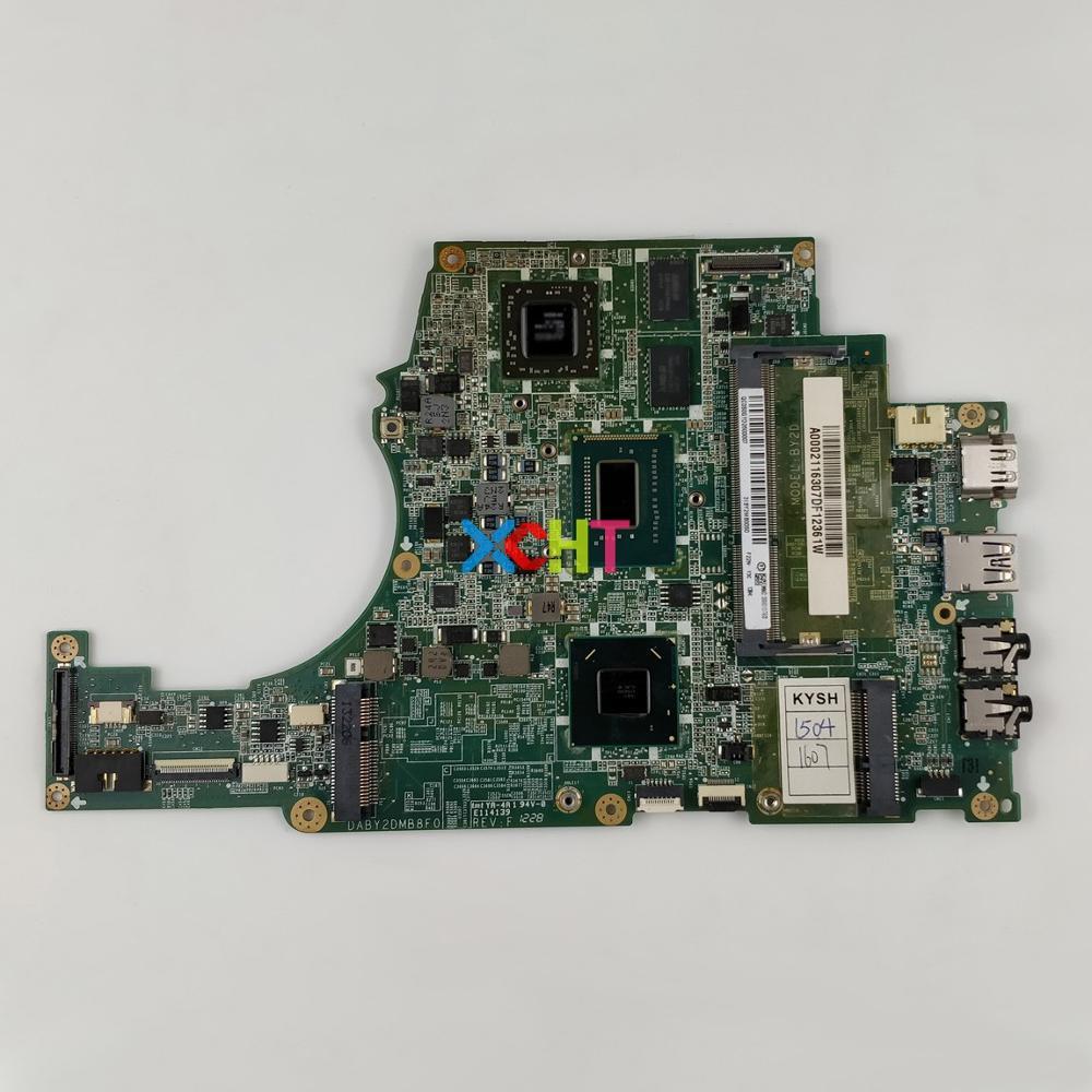 A000211630 DABY2DMB8F0 Вт HD7670M GPU w i3 3217U процессор для Toshiba Satellite U840 U845 Ноутбук Материнская плата ноутбука плата-in Материнская плата для ноутбука from Компьютер и офис