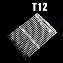 T12 серии жало паяльника для HAKKO T12 ручка светодиодный вибрации переключатель Регулятор температуры FX951 FX-952