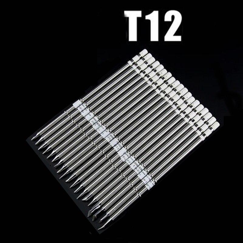 T12 سلسلة سبيكة لحام نصائح ل HAKKO T12 مقبض LED الاهتزاز التبديل متحكم في درجة الحرارة FX951 FX-952