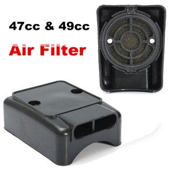Filtro de aire Universal para motocicleta, caja de 47cc y 49cc, limpiador para Scooter, Mini Moto, Dirt Pit, ATV, Quad, deportivo