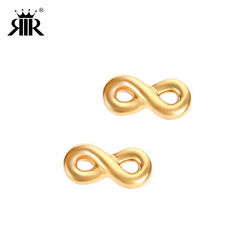 Jewelry Earrings Infinity-Symbol Stainless-Steel Eternity Women's For Friends Charm Gifts