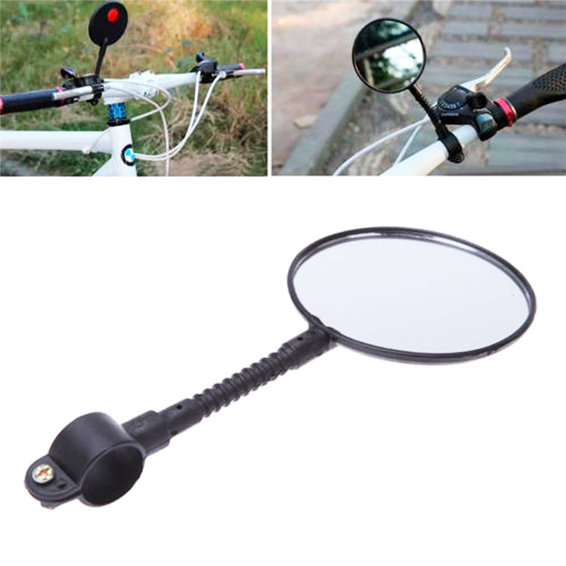 Bicycle Mirror Adjustable Flexible Cycling Rear View Convex Mountain Bike Handlebar Rearview Mirror Cycle Bicicleta AccessoriesBicycle Mirror Adjustable Flexible Cycling Rear View Convex Mountain Bike Handlebar Rearview Mirror Cycle Bicicleta Accessories