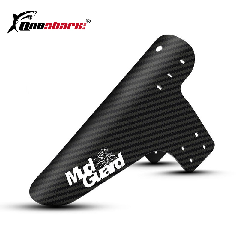 1pc New Mountain Bike Accessories Mudguard 3D Carbon Fiber Twill Cycling MTB Fender Rear Mud Guard Wings For Road Bicycle Goods