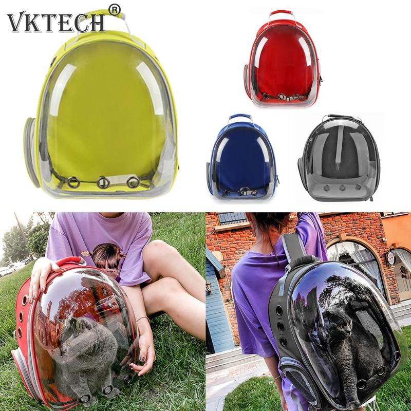 Breathable Pet Carrier Bag Portable Cat Dog Bag Basket Portable Outdoor Travel Backpack Pets Carrying Cage Pet SuppliesDog Carriers   -