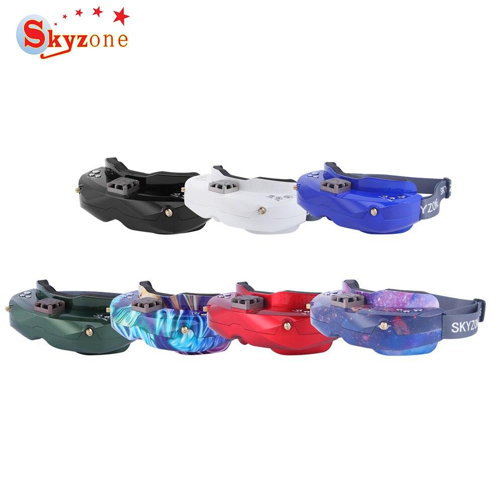 48CH SKY02C 5.8Ghz Diversidade SKYZONE FPV Goggles DVR Suporte HDMI & Ventilador Para Corrida RC Drone Spare Cabeça Rastreador partes