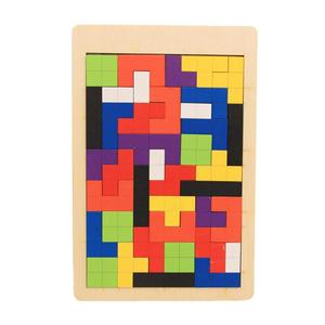 Baby Wooden Tetris Puzzles Toy