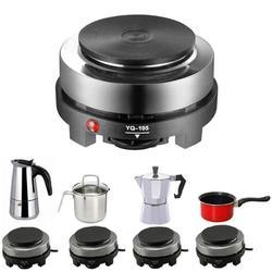 500 Вт мини электрический нагреватель плита горячая плита молоко воды кофе Отопление печи Многофункциональный кухонный прибор ЕС Plug