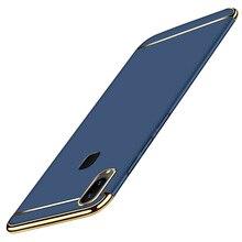 For Vivo V9 Youth Case Luxury 3 in 1 Ultra Slim Hard PC Protective Phone Y85 Full Body Back Cover