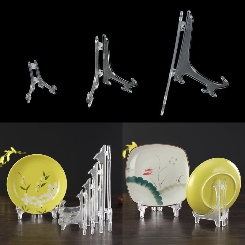 42mm Plastic Display Stand Easel Coin Medal Token Badge Holder Collection Shelf