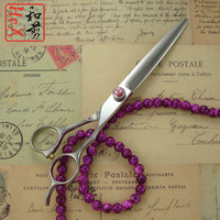 7 inch Japanese 440C professional hair scissors high quality hairdressing scissors Barber Scissors hairdresser scissors