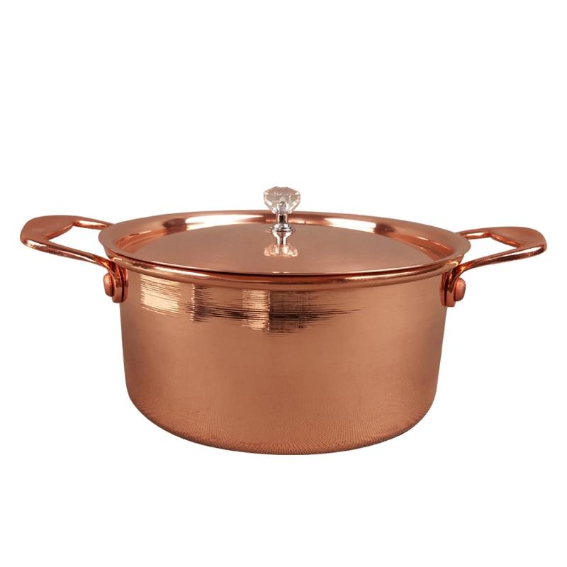 Pure Copper Small Soup Rice Pot
