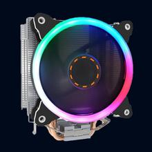 6 Heatpipes CPU Cooling Fan Heat Sink Radiator for AMD/AM4/775/1150/1151/1155/1156/115x Computer Colorful lights Case Decoration