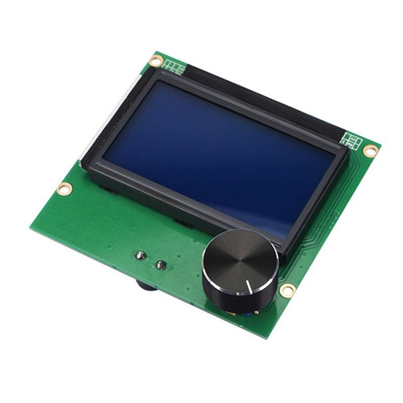 Remplacement Ender-3 Carte Mère + 12864 Lcd Affichage Câbles Pour Ender 3 3D Imprimantes Pièces Contrôleur