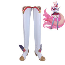 LOL League Of Legends Ster Guardian Ahri Huid Cosplay Schoenen Vrouwen Laarzen(China)