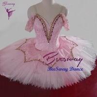 Snowflake Classical Ballet Costume Ballet Dress for Women Adult Professional Ballet Tutus Pink Ballerina Sleeping Beauty tutu
