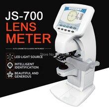 Цифровой Lensometer Lensmeter Focimeter JS-700 автоматический цветной экран; персональный рабочий экран