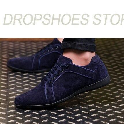 Nouveau Automne/Hiver Casual Hommes Chaussures Fashio Bas de Dentelle-up Toile Chaussures Noir Robe Hommes Chaussures Zapatillas hombre Hommes Sneakers