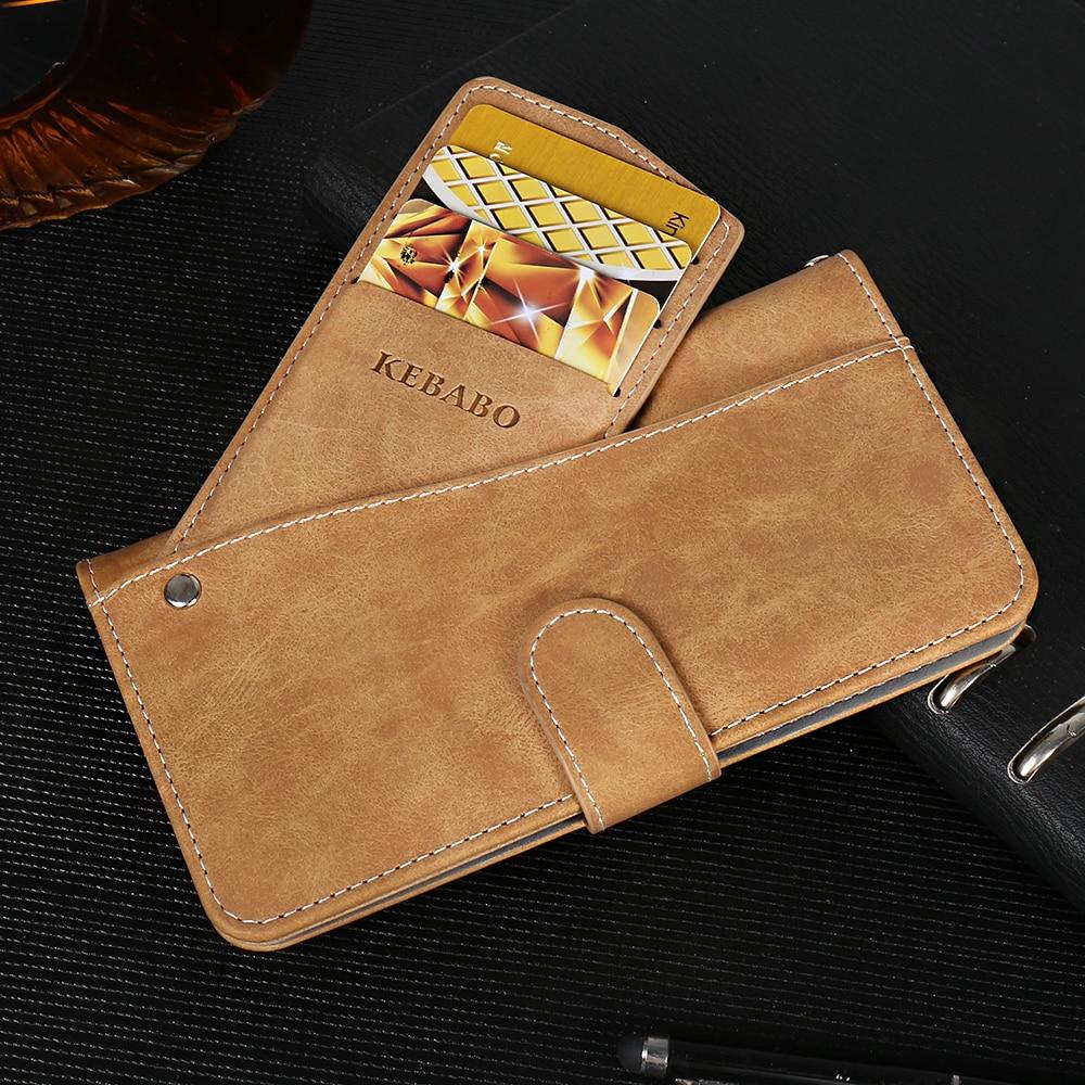 New Design! Prestigio Muze G5 LTE Case Luxury Wallet Vintage Flip Leather Case Phone Protective Cover Card Slots