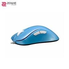 Игровая мышь ZOWIE GEAR EC1-B DIVINA BLUE EDITION компьютерная игровая Проводная периферийная система мыши и клавиатуры esports