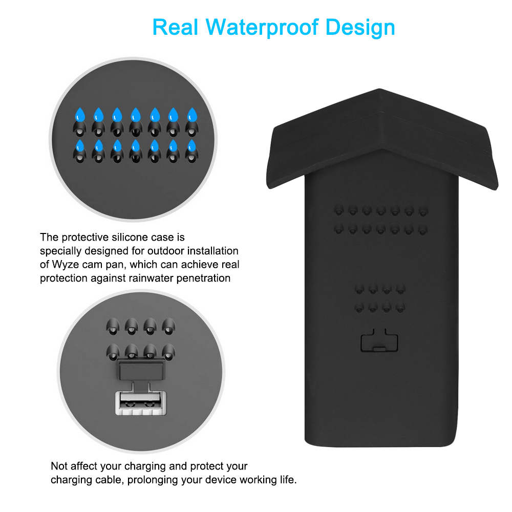 Real Water Resistant Protective Case + 360 Degree Protective