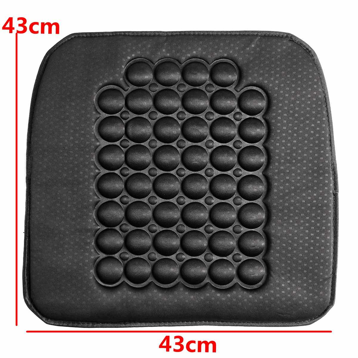 1 Pcs 12V Fasr Heated Black Car Heated Seat Cushion Cover Auto Heat Heater Warmer Pad Winter Automobiles Seat Covers Accessories