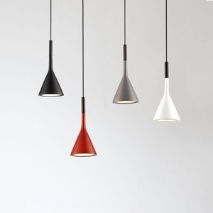 Image 5 - Modern Pendant Lights Kitchen Fixtures For Dining Room Restaurant Bars Home Bedroom White Black Red Lighting Deco Hanging Lamp