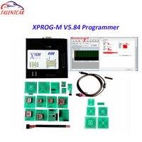 2018 новая версия xprog m 5,84 X prog V5.84 Авто программатор блоков управления Xprog 5,84 коробка выше, чем Xprog 5,74 5,72 чип инструмент настройки