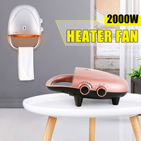 220V 2000W Portable Electric Heater Air Heater Warm Air Handy Blower Room Fan Radiator Warmer For Office Home Hotel High Quality
