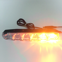 2pcs Yellow Sequential Flowing Angel Eyes Turn Signal Strip Waterproof White Driving Daytime Running Light LED DRL Car Tuning
