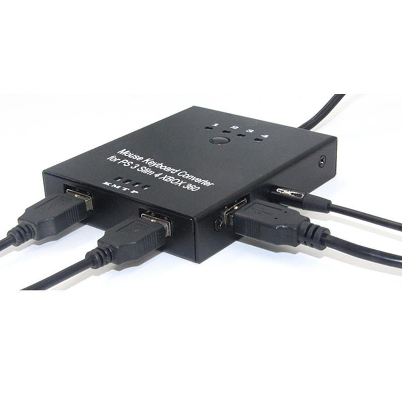 Gamepad Convertisseur Clavier Souris Pour PS4/PS4 Pro/PS4 Mince/PS3 Pour Commutateur/XBOX ONE/ xbox Ceux/XBOX 360 Jeu PC Accessoires Adaptateur