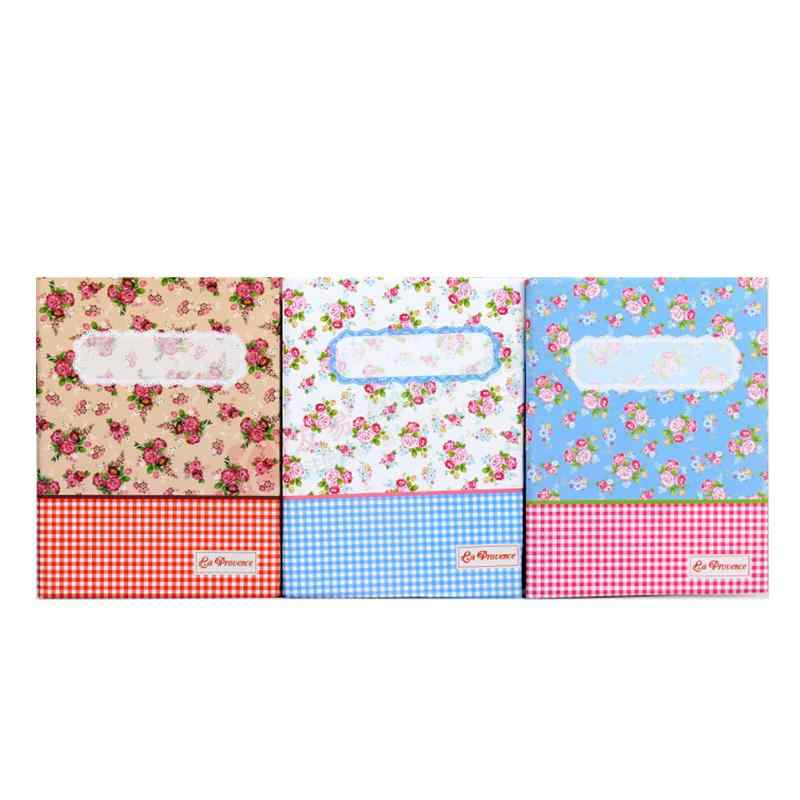 Random Color Fashion 4R 100 Pockets Picture Album Case Traveling Photo Holder Storage Home Decoration