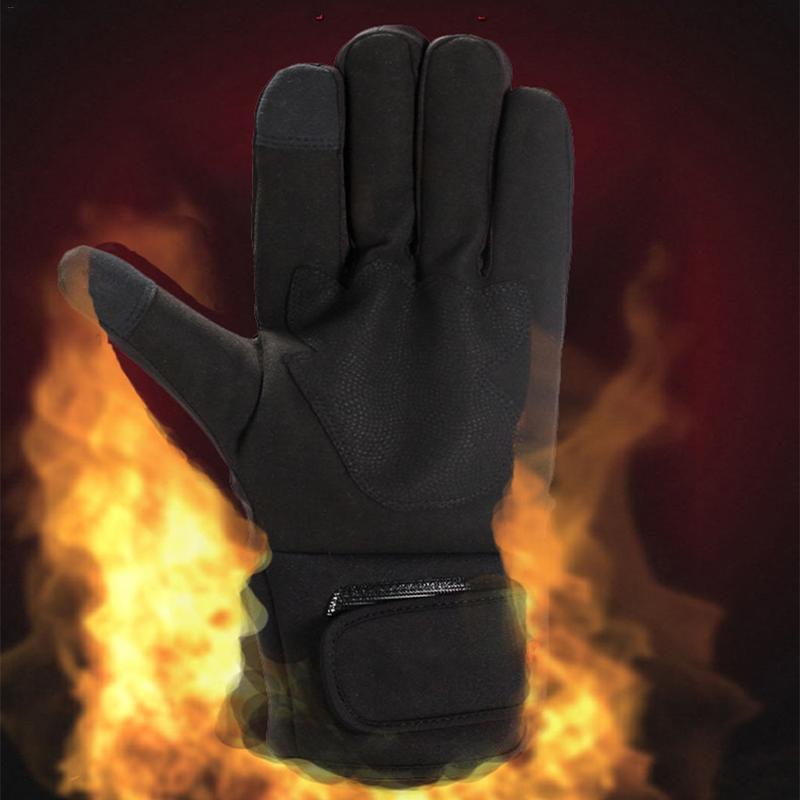 Здесь можно купить  2200MAH Smart Electric Heated Gloves,Lithium Battery 5 Finger&Hand Back Self Heating,Touch Screen Outdoor Sport Ride Ski Gloves  Спорт и развлечения
