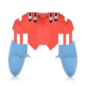 Image 2 - أو AK65 PUGB مساعد الهاتف المحمول مقبض المحمول أذرع التحكم في ألعاب الفيديو ستة إصبع الكل في واحد تحكم المحمول عصا التحكم في اللعبة غمبد