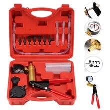 Kit de testeur de pompe à vide à main 2 en 1, pompe à pistolet, changement dhuile automatique, Kits doutils de pompe à pistolet