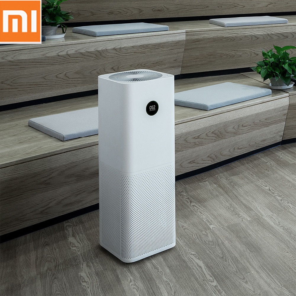 Xiaomi Mi Air Purifier Pro Air Cleaner Humidifier Smart OLED CADR 500m3 h 60m3 Smartphone APP