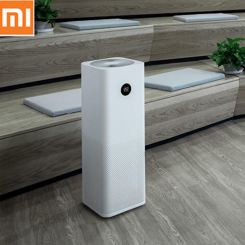 Xiao mi mi purificateur d'air Pro purificateur d'air Hu mi difier intelligent OLED CADR 500m3/h 60m3 Smartphone APP contrôle ménage filtre Hepa