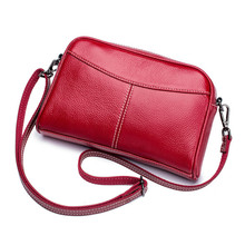 Fashion Small Women Shoulder Bags Genuine Leather Womnens Massenger Bags Famous Brand Ladies Bags Mini Causal Crossbody Bags